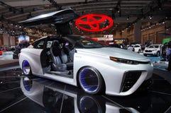 Αυτοκίνητο φτερών γλάρων της Toyota Mirai Στοκ εικόνες με δικαίωμα ελεύθερης χρήσης