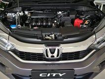 αυτοκίνητο ωρ.-β Honda μηχανών και πόλη Honda στοκ φωτογραφίες