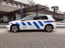 Αυτοκίνητο Allogo Keolis προστασίας και ασφάλειας γκολφ του Volkswagen Στοκ εικόνα με δικαίωμα ελεύθερης χρήσης