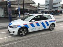 Αυτοκίνητο Allogo Keolis προστασίας και ασφάλειας γκολφ του Volkswagen Στοκ Φωτογραφίες