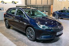 Αυτοκίνητο Astra Opel στοκ φωτογραφία