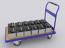 Αυτοκίνητο batterys Στοκ Εικόνες