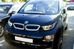 Αυτοκίνητο BMW i3 Στοκ φωτογραφία με δικαίωμα ελεύθερης χρήσης