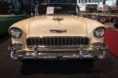 Αυτοκίνητο Chevrolet Bel Air φυσικού μεγέθους μετατρέψιμο, 1955 Στοκ εικόνες με δικαίωμα ελεύθερης χρήσης