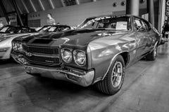Αυτοκίνητο Chevrolet Chevelle SS, 1970 μέσος-μεγέθους Στοκ Φωτογραφία