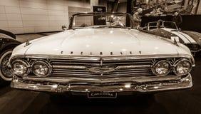 Αυτοκίνητο Chevrolet Impala φυσικού μεγέθους μετατρέψιμο, 1960 Στοκ εικόνες με δικαίωμα ελεύθερης χρήσης