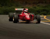Αυτοκίνητο Ferrari F1 Στοκ Εικόνες