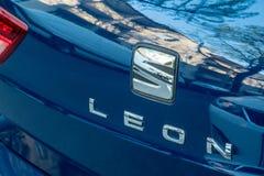 Αυτοκίνητο Leà ³ ν καθισμάτων Στοκ εικόνα με δικαίωμα ελεύθερης χρήσης