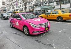 Αυτοκίνητο Lyft Στοκ Εικόνες