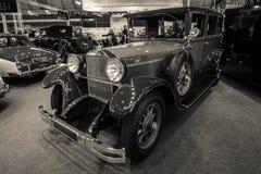 Αυτοκίνητο Mercedes-Benz 300 τύπος 12/55 CP, 1926 πολυτέλειας Στοκ Εικόνες