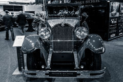 Αυτοκίνητο Mercedes-Benz 300 τύπος 12/55 CP, 1926 πολυτέλειας Στοκ Φωτογραφία
