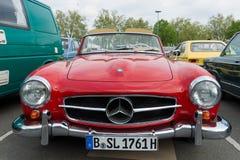 Αυτοκίνητο Mercedes-Benz 190SL Στοκ εικόνα με δικαίωμα ελεύθερης χρήσης