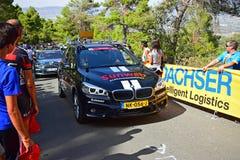 Αυτοκίνητο Sunweb ομάδας στη φυλή 2017 κύκλων Λα Vuelta España στοκ φωτογραφία με δικαίωμα ελεύθερης χρήσης