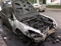 Αυτοκίνητο Vandalized Στοκ εικόνες με δικαίωμα ελεύθερης χρήσης