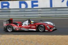 Αυτοκίνητο Wining στο Le Mans 2010 Στοκ φωτογραφίες με δικαίωμα ελεύθερης χρήσης