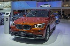 Αυτοκίνητο xLine της BMW X1 sDrive20d Στοκ φωτογραφίες με δικαίωμα ελεύθερης χρήσης
