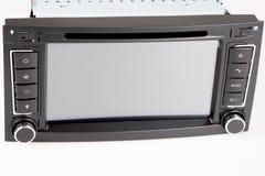 Αυτοκινήτου διπλό DIN ραδιοφώνων καθορισμένο πλαίσιο ναυσιπλοΐας στοκ εικόνα με δικαίωμα ελεύθερης χρήσης