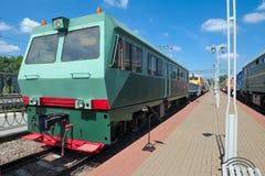 Αυτοκινητάμαξα defectoscopic amd-ζ-001 diesel Στοκ Εικόνα
