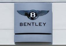 Αυτοκινητικές κούτσουρο και σκηνή Bentley Στοκ Εικόνα