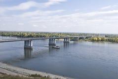 αυτοκινητική γέφυρα Στοκ Φωτογραφία