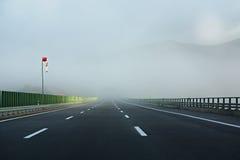 αυτοκινητική εθνική οδό&sigma Στοκ εικόνα με δικαίωμα ελεύθερης χρήσης