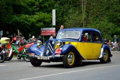 αυτοκινητικός τρύγος σεπιών αυτοκινήτων αναδρομικός Στοκ Εικόνα