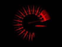 Αυτοκινητικό ταχύμετρο ταχυμέτρων Στοκ Φωτογραφία