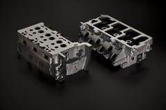 Αυτοκινητοβιομηχανία Δύο μέρη μετάλλων του χυτοσιδήρου Στοκ εικόνα με δικαίωμα ελεύθερης χρήσης