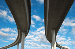 αυτοκινητόδρομος Los της Angele Στοκ Εικόνα