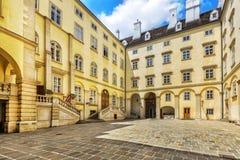 Αυτοκρατορικά παρεκκλησι & x28 Burgkapelle& x29  στη Βιέννη Στοκ Φωτογραφίες