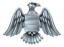 Αυτοκρατορική κάλυψη ασπίδων αετών των όπλων Στοκ Φωτογραφία