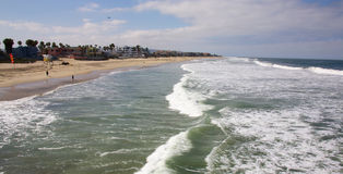 Αυτοκρατορική παραλία Καλιφόρνια Στοκ φωτογραφία με δικαίωμα ελεύθερης χρήσης