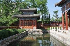 Αυτοκρατορικός κήπος Beihai στο Πεκίνο Στοκ φωτογραφία με δικαίωμα ελεύθερης χρήσης