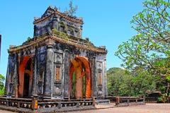 Αυτοκρατορικός τάφος χρώματος του TU Duc, περιοχή παγκόσμιων κληρονομιών της ΟΥΝΕΣΚΟ του Βιετνάμ στοκ εικόνα με δικαίωμα ελεύθερης χρήσης