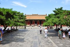 Αυτοκρατορικό παλάτι Shenyang, Κίνα Στοκ Εικόνες