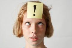 αυτοκόλλητες ετικέττες κοριτσιών Στοκ φωτογραφία με δικαίωμα ελεύθερης χρήσης