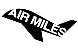Αυτοκόλλητη ετικέττα ΜΙΛΙ'ΩΝ AIR ελεύθερη απεικόνιση δικαιώματος