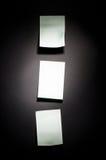 αυτοκόλλητη ετικέττα Στοκ φωτογραφίες με δικαίωμα ελεύθερης χρήσης