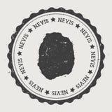 Αυτοκόλλητη ετικέττα Nevis Στοκ Φωτογραφίες