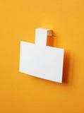 Αυτοκόλλητη ετικέττα της Λευκής Βίβλου Στοκ εικόνα με δικαίωμα ελεύθερης χρήσης