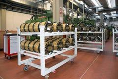 Αυτοματοποιημένες εγκαταστάσεις εργοστασίων για το ηλεκτρικό συστατικό Στοκ Εικόνες