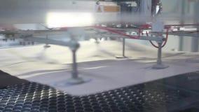 Αυτοματοποιημένη γραμμή κατασκευής απόθεμα βίντεο
