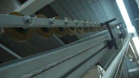 Αυτοματοποιημένη γραμμή συσκευασίας τσαγιού, τσάι στη συσκευασία, ρωσική παραγωγή τσαγιού απόθεμα βίντεο