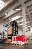 αυτοματοποιημένη forklift ρομπ&omic Στοκ φωτογραφίες με δικαίωμα ελεύθερης χρήσης