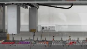 Αυτοματοποιημένος μεταφορέων γραμμών ιατρικός ρομποτικός εξοπλισμός εργαστηρίων συσκευών κλινικός διαγνωστικός απόθεμα βίντεο