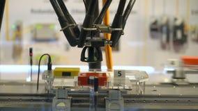 Αυτοματοποιημένος ρομποτικός μεταφορέας απόθεμα βίντεο