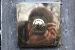 Αυτοπροσωπογραφία κουδουνιών πορτών στοκ εικόνες με δικαίωμα ελεύθερης χρήσης