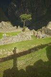 Αυτοπροσωπογραφία σε Machu Picchu, Στοκ Φωτογραφία