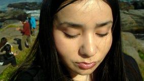 Αυτοπροσωπογραφία στο τοπίο στοκ φωτογραφία με δικαίωμα ελεύθερης χρήσης