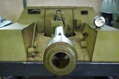 Αυτοπροωθούμενο πυροβόλο όπλο ksp-76 ροδών Στοκ φωτογραφία με δικαίωμα ελεύθερης χρήσης